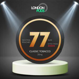 77 Classic Tobacco Dark Nicotine Pouch