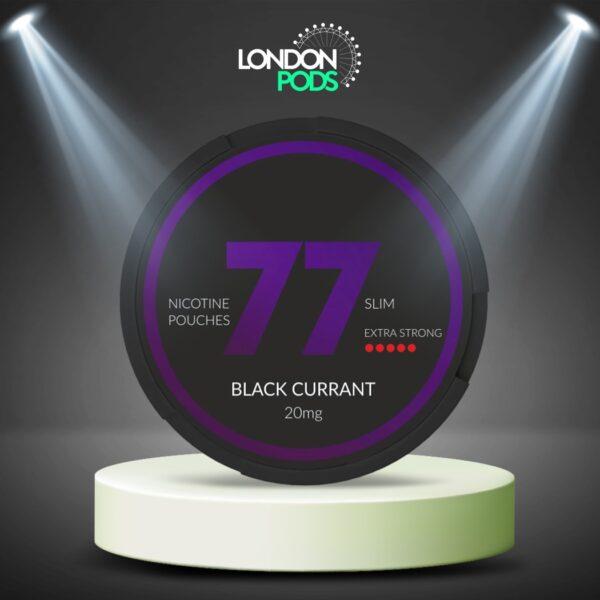 77 Black Current Dark Nicotine Pouch