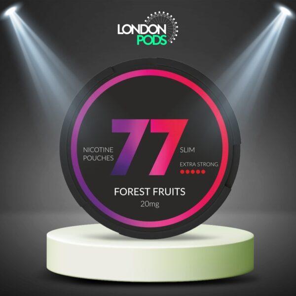77 Forrest Fruits Dark Nicotine Pouch
