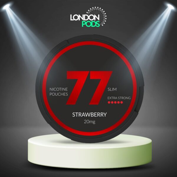 77 Strawberry Dark Nicotine Pouch
