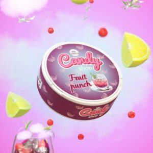 candy shop fruit punch snus nicotine pouches
