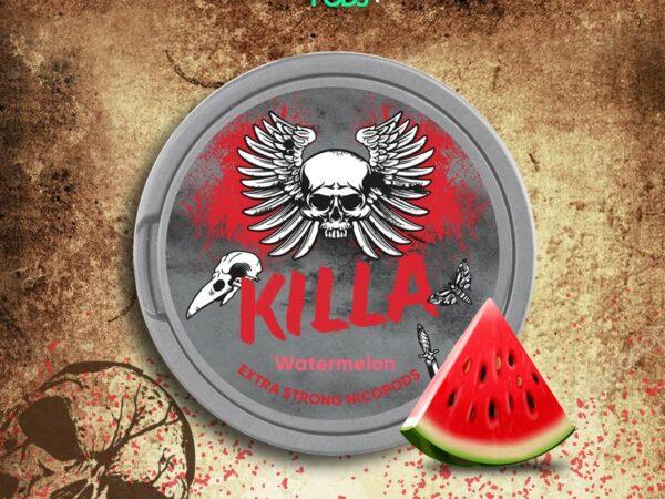 killa watermelon snus nicopods
