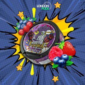 kurwa forest fruit ice cream snus nicotine pouch