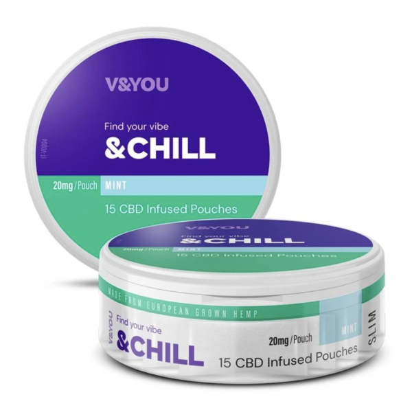 CBD pouch - tobacco-free - snus alternative