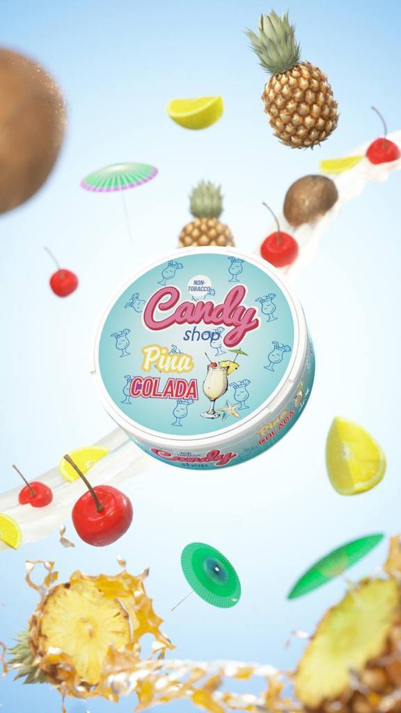 candy shop pina colada snus nicotine pouches