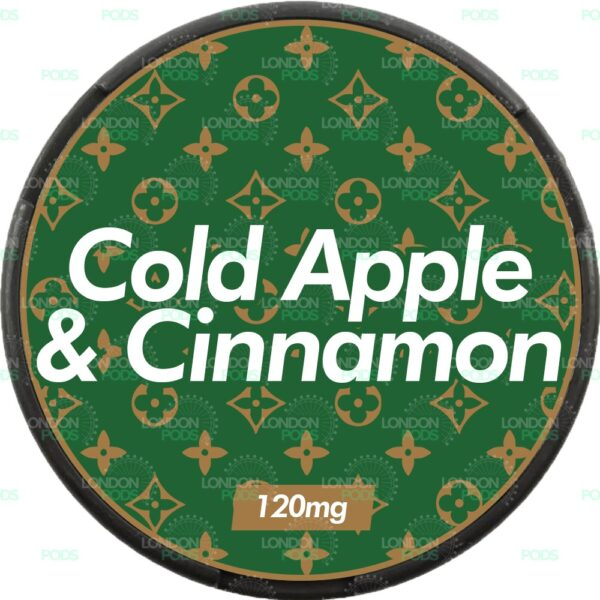 supreme cold apple and cinnamon snus nicopods