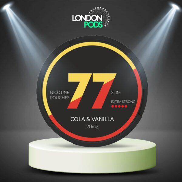 77 Cola & Vanilla Nicotine Pouch