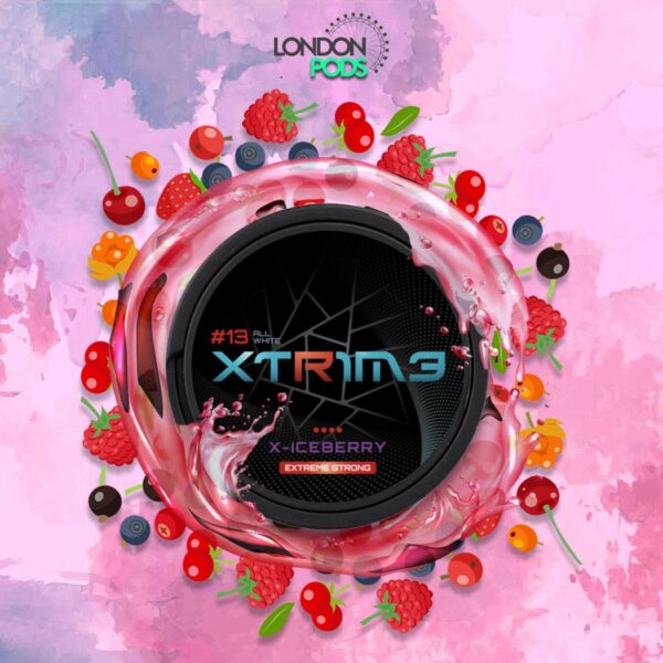 extreme x-iceberry snus nicotine pouches