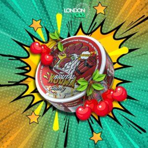 kurwa cherry snus nicotine pouches