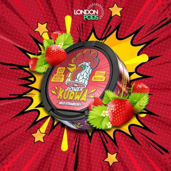 kurwa strawberry snus nicotine pouches