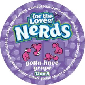 Snooze: Nerds - Snus, Nicotine Pouches (Extremely Strong)