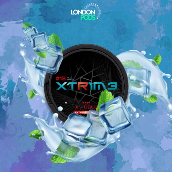 extreme x-cold snus nicotine pouches
