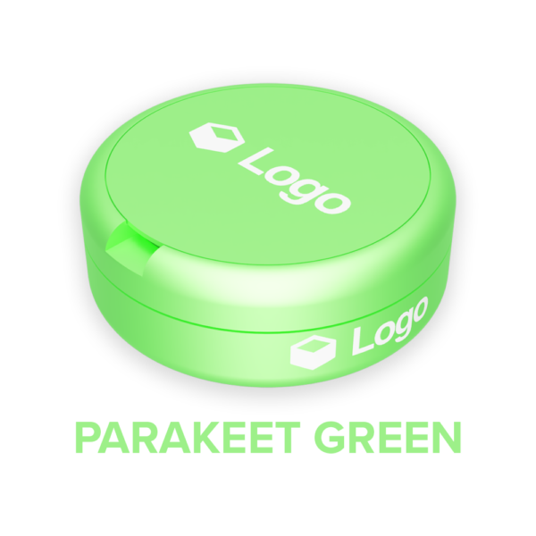 Parakeet Green - Nicotine Pouch Customisable Container