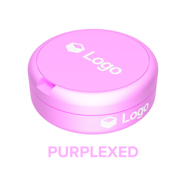Purplexed - Nicotine Pouch Customisable Container