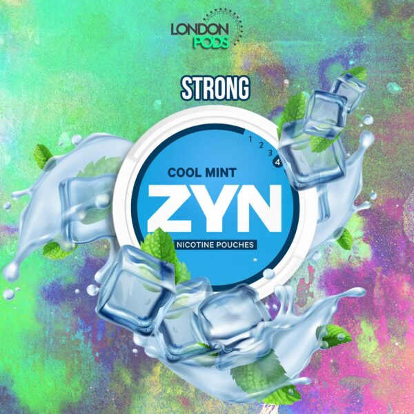zyn cool mint snus nicotine pouches