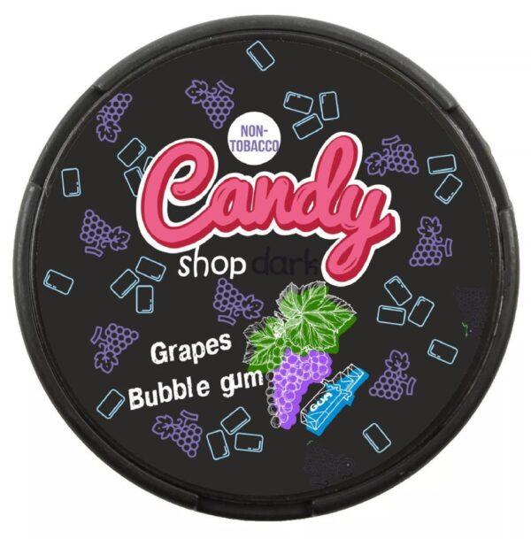 candy shop grapes bubblegum snus nicotine pouches