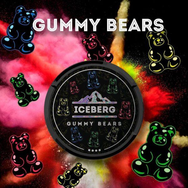 iceberg gummy bears snus nicotine pouches