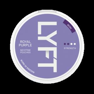 lyft royal purple mini snus nicotine pouches