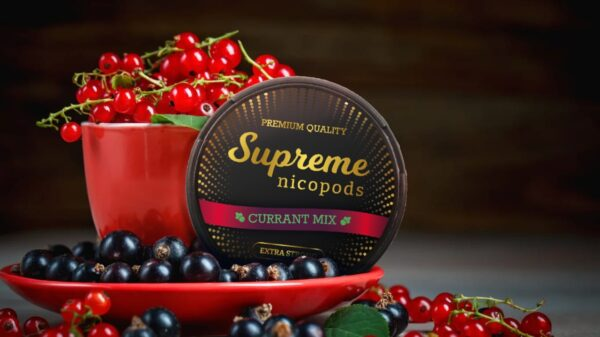 supreme currant mix snus nicotine pouch