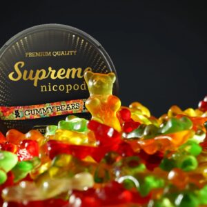 supreme gummy bears snus nicotine pouches