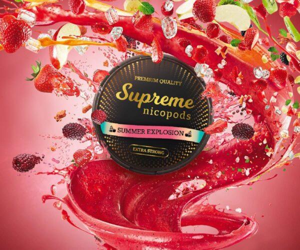 supreme summer explosion snus nicotine pouches