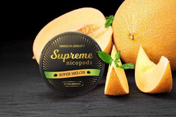 supreme super melon snus nicotine pouches