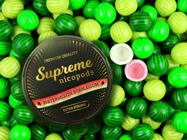 supreme watermelon snus nicotine pouches