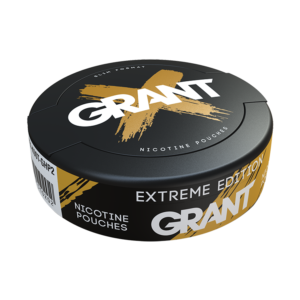 grant extreme edition snus nicotine pouches