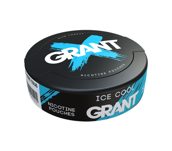 grant ice cool snus nicotine pouches