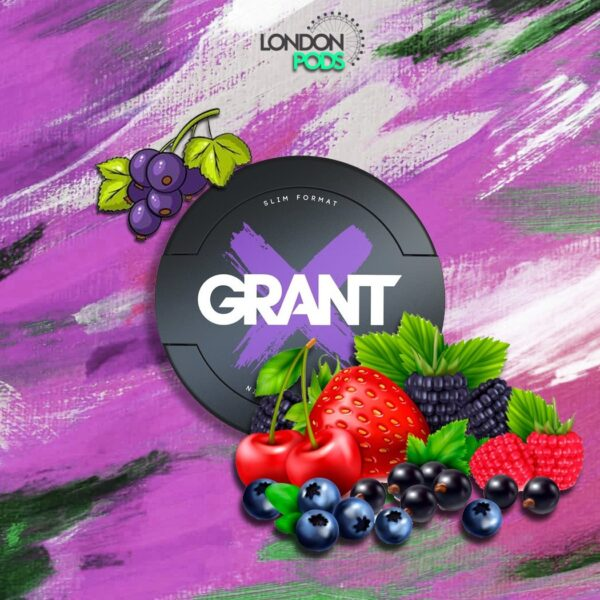 grant wild berry snus nicotine pouches