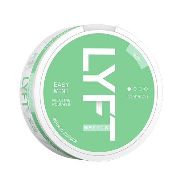 lyft easy mint mini nicotine pouches