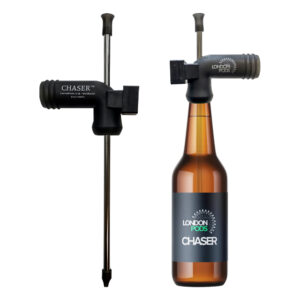 London Pods Chaser Pro - Beer snorkel with built-in timer